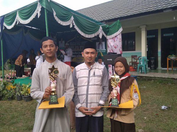 Juara 2 Putra Lomba Ceramah Tingkat SMA/ MA dalam Rangka Memperingati Ulang Tahun PPNI