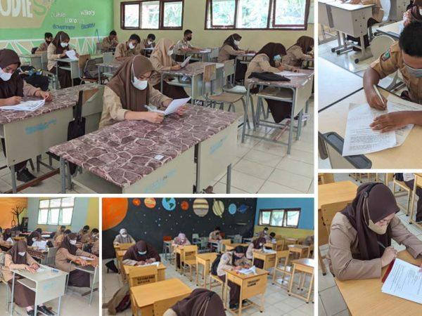 SMANSER Kembali Gelas PTS Untuk Semester Ganjil Tahun Pelajaran 2021/2022